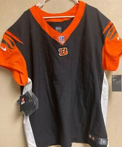 NFL Pro Cincinnati Bangels On Field Plain Football Jersey Men Sz 48 $325.00 NEW