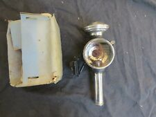 A.V. FRENCH HEAD LIGHT EARLY VINTAGE LAMP LANTERNE BICYCLE WICK TYPE FORK MOUNT