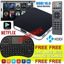 Version 2017 Android 4.4 TV Box With KODI 16.0 S805 Quad Core WIFI Mini Keyboard