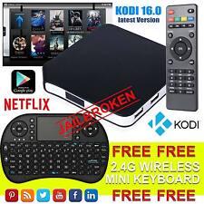 La versione 2017 Android 4.4 TV Box con Kodi 16.0 S805 QUAD CORE WIFI MINI TASTIERA