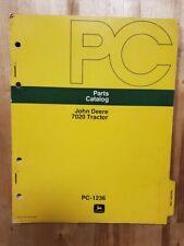 John Deere Parts Catalog Manual Pc 1236 7020 Tractor