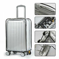 Clear PVC Plastic Travel Luggage Cover Suitcase Protector Size 20/22/24/26/28/30