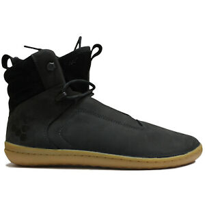 Vivobarefoot Womens Boots Kasana Casual Ankle Lace-Up Sneakers Leather Textile