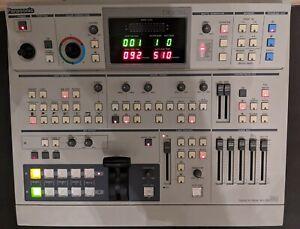 Panasonic WJ-MX50A 4-Input Special Effect Generator / Video Switcher - WORKING
