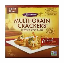 Crunchmaster Oven Baked Crunchy Multi-Grain Crackers 28 Ounce Free Shipping