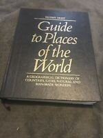 """""""Reader's Digest"""" Guide to Places of the World by Reader's Digest Hardback Book"""
