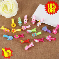 1X Colorful Kids Hair Clips Hairpins Hair Accessories Girls gift Nice Fo U8C5
