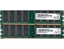 2GB 2x1GB PC-2100 AVANT NCR NANYA RAM MEMORY KIT AVM6428UC52C5266K5-AP DDR-266