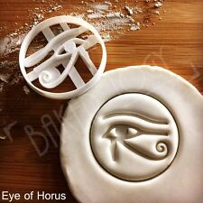 Eye of Horus cookie cutter | Egypt artifact hieroglyph ancient Egyptian biscuit