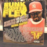 """Funkmaster Flex """"The Mix Tape Vol. III"""" 2x LP Jay-Z Nas Wu-Tang Clan Gang Starr"""