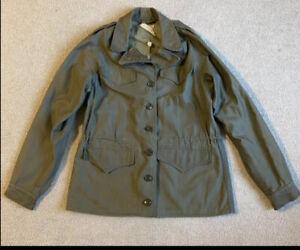 WW2 US Army WAC Nurses M-1943 Field Jacket  GI #ed