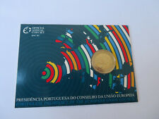 PORTUGAL-2 €2007 Coincard  PRESIDENCE UE    BU (15 000 ex.)  CPS