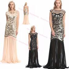 30's 20s dress Flapper Costume Fancy Gatsby dress Party Long Evening Prom Dress