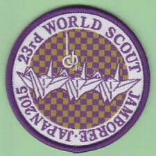 World Scout Jamboree Japan 2015 Official Scout Shop patch / FOLDED PAPER CRANE
