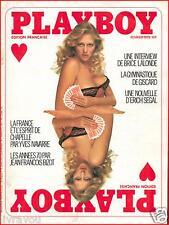 ▬► PLAYBOY N° 51 de 1978 PLAYMATES SANS FRONTIERES_ERICH SEGAL_NUDE GIRLS
