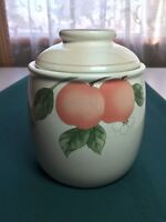 Mikasa Fruit Panorama Sugar Canister with Lid-Never Used