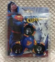 Superman (Printed-Blue) 3-Way Justice League Diztracto Fidget Spinner Spinnerz