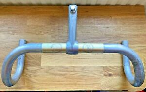 Vintage GB Maes Handlebars with GB Spearpoint Forged Hiduminium Stem
