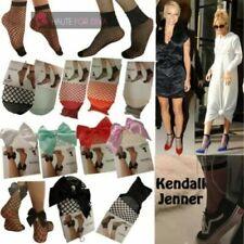 Medias y calcetines de mujer negros de poliamida