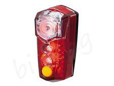 TOPEAK REDLITE MEGA ,Bike Red LED Rear Light Safelty Light Tail Lights ,TMS047