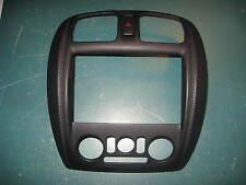 1999 2000 Mazda Protege Dash / Radio / Heater Bezel Black Color OEM Mazda Part