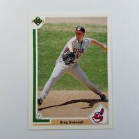 1991 Upper Deck Baseball Card Greg Swindell Cleveland Indians #236 MLB