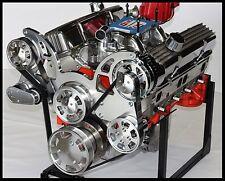 CHEVY TURN KEY 383 SUPER STROKER STAGE 2.2 DART BLOCK CRATE MOTOR 525-SERPENTINE