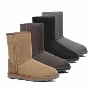 【ON SALE】UGG Classic Short Boots Water Resistant Premium Australian Sheepskin