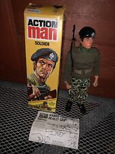 Vintage Palitoy Action Man Soldier Eagle Eyes Boxed Blue Pants