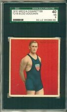 1910 T218 MECCA CHAMPIONS BUDD GOODWIN SGC 40 3 VG
