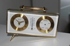 Seltenes Swiza 8 Tage Uhr+ Barometer und Wetterstation an Bastler oder Uhrmacher