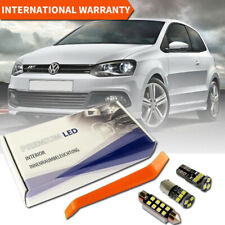 VW Polo MK5 6R Premium LED Full Interior White Error Free 8 SMD Bulbs