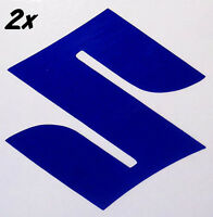 Suzuki S REFLECTIVE BLUE 1000 decals 600 sticker 450 gsxr 250 rm 1100 gsxs 750