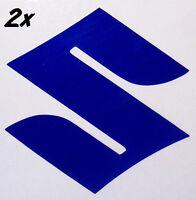 Suzuki S REFLECTIVE BLUE 1000 decals 600 sticker 450 gsxr 250 rm 1100 gsxs 750