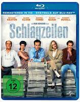SCHLAGZEILEN - KEATON,MICHAEL/CLOSE,GLENN/TOMEL,MARISA/+   BLU-RAY NEUF