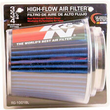 K&N Universal Blue Colour Induction Kit / Replacement Filter 76mm-100mm