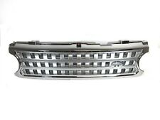 06 09 Range Rover Chrome Grille Silver Mesh Front Bumper Hood Grill 2006 2009