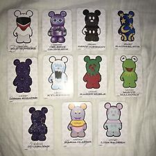 Vinylmation Park Series 1 - 11x Cards From The Series All Mint