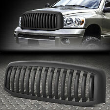 FOR 06-09 RAM 1500 2500 3500 VERTICAL STYLING FRONT BUMPER GRILLE GRILL MATTE