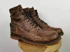 """Timberland Earthkeepers Mens Brown 6"""" Waterproof Leather Mid Boots, UK 9.5"""
