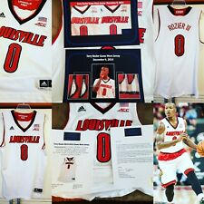 Terry Rozier 2014-15 Louisville Cardinals Game Worn Jersey Photomatched 19 Games