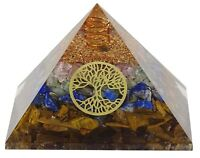 Harmonize Organite 4 Layer Pyramid Crystal Reiki Feng Shui Vastu Chakra CDR2152A