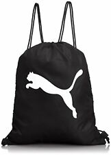 Mens PUMA Drawstring Gym Bag Women Kids PE Rucksack Yoga Swimming Backpack sport