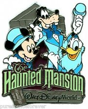 WDW E-Ticket Attractions - The Haunted Mansion/Mickey & Pals LE 1500 Pin