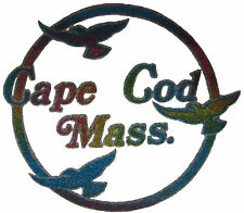 VINTAGE 70'S CAPE COD IRON ON T-SHIRT TRANSFER