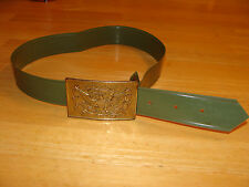 Civil War style Vintage Toy Belt & Buckle  Eagle Buckle  1960's GI Joe WWII