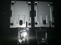 "2 X  Super Slim Hard Disk Drive 2.5"" HDD Caddy Mounting Bracket for Sony PS3"