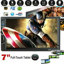 7 Inch 1080P DOUBLE 2DIN Car MP5 MP3 Redio Player BT Touch Screen Stereo Radio T