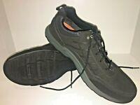 Rockport Wayde Mudguard Oxford Black Shoes Hydro-Shield Men's SZ 12 W Waterproof
