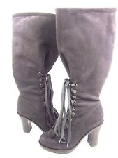 FARYLROBIN WOMEN'S CHARLOTTE KNEE-HIGH BOOTS,BROWN, US SIZE 6.5 MEDIUM